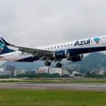 Avião Embraer da Azul