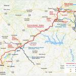 Rota será realizada em 95 minutos e a 160 km/h / Divulgação